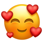 emoji Smiling Face With 3 Hearts