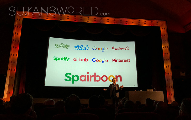 Spairboon - a fictional company shows lots of new logos start to look the same