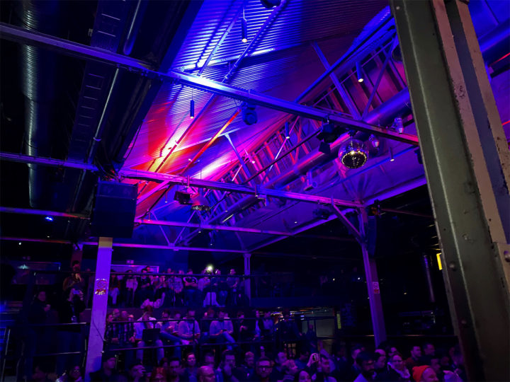 Inside the venue of beyond tellerrand berlin 2019