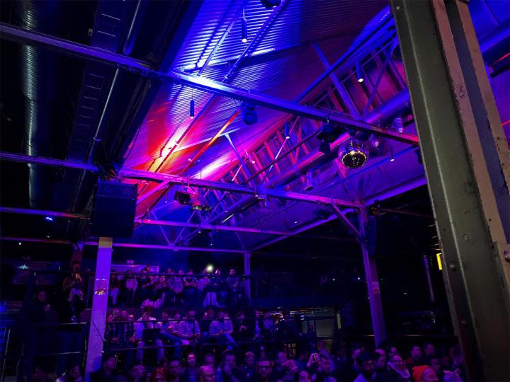 Inside the venue of beyond tellerrand berlin 2019